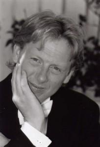 Stefan Nymark, körens nuvarande dirigent